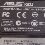 Naprawa laptopa Asus K52J, procesor, układ chłodzenia, temperatura, wolno działa, Szczecin