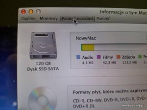Naprawa taśmy dysku twardego Apple MacBook Pro A1248