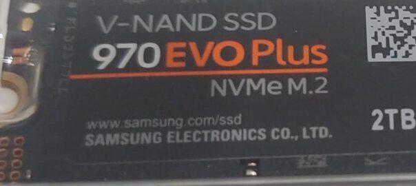 Wymiana dysku HDD na SSD NVMe EVO Szczecin